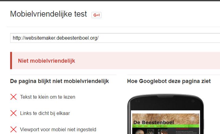 Meer Bezoekers – Hoger in Google – Maak je site mobile responsive!