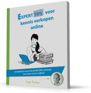Kennis verkopen online