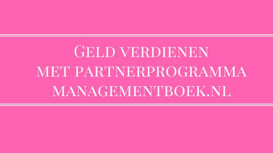 partnerprogramma managementboek