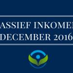 passief inkomen rapportage december