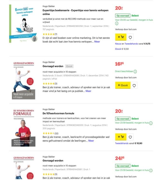 Passief inkomen door bol.com